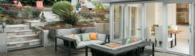 Kraft Fliesen GmbH | Ein Belag, der alles mitmacht - Keramische Terrassenplatten sind ideal für jede Fläche im Außenbereich