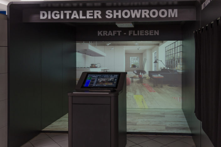 Kraft Fliesen GmbH | Digital Showroom 1