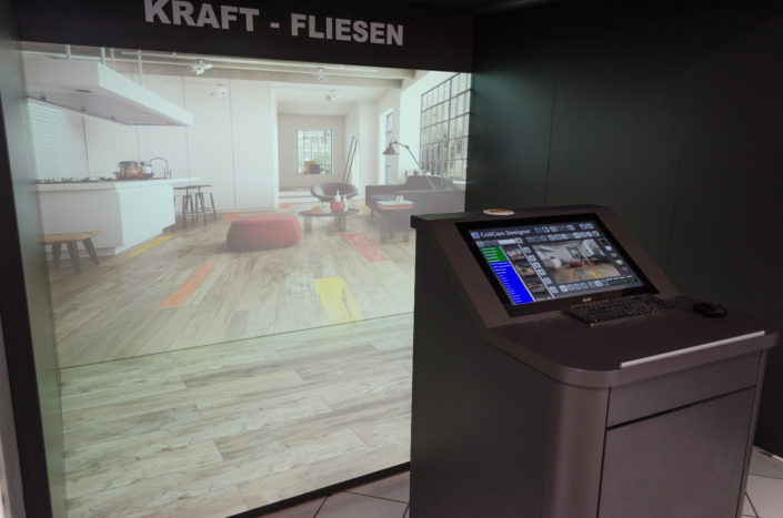 Kraft Fliesen GmbH | Digital Showroom 3