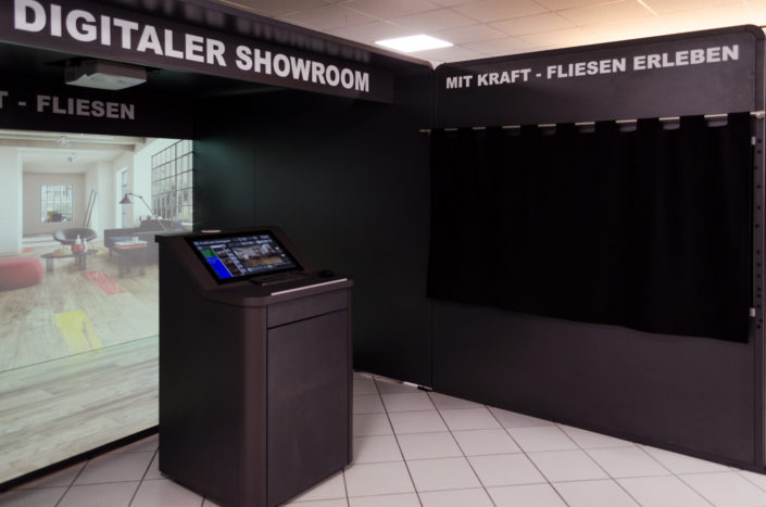 Kraft Fliesen GmbH | Digital Showroom 4
